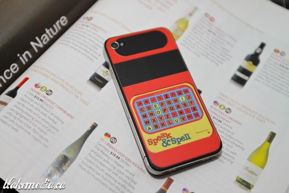 Speak & Spell: Simple iPhone 4 Retro Overhaul Decal