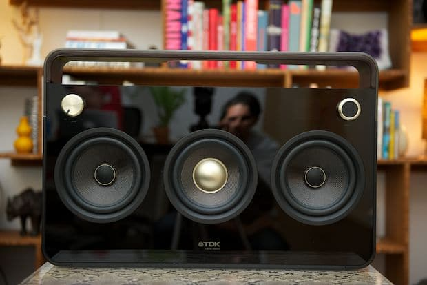 The Retro Boombox Gets A New Face With A Touchscreen!