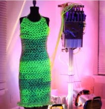 Fluid Dress by Charlie Bucket: Now You Can Glow in The Dark!