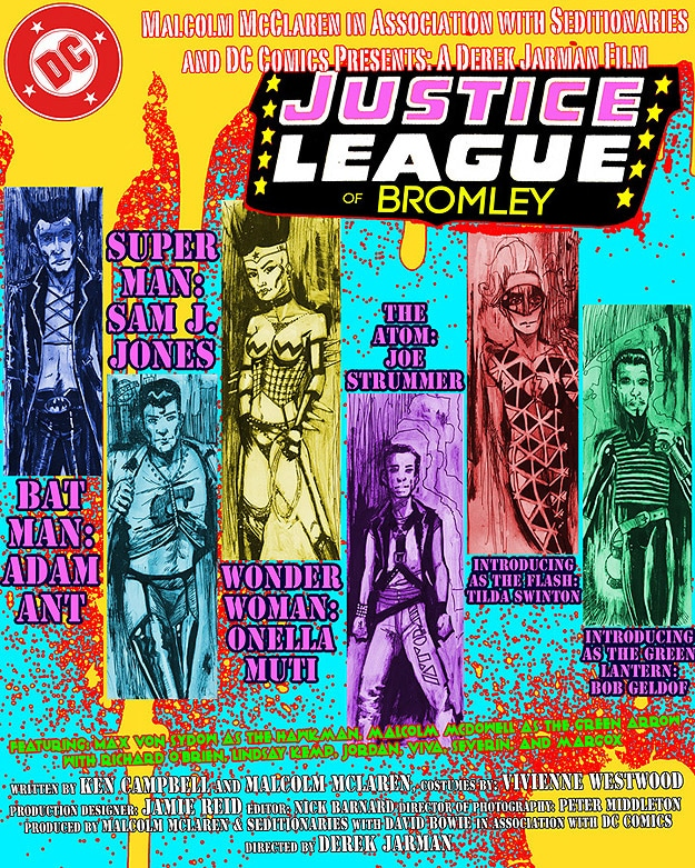 The Justice League Goes Sex Pistols Punk