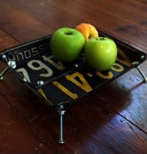 Recycle Those License Plates Into Retro Bowls!