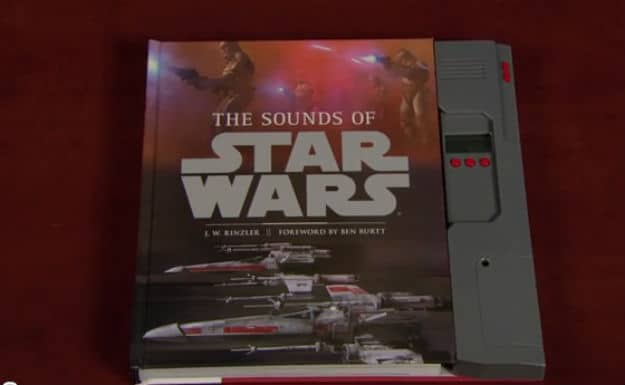 """""""The Sounds of Star Wars"""" Book! It's Pure Awesomeness!"""