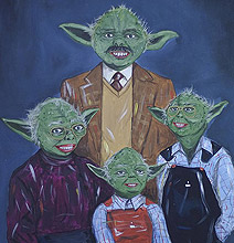 The Unofficial Star Wars Family Portraits