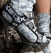 Teva High Heels: Climb That Mountain In Style!