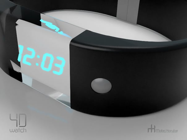 Holographics Now Tell The Time On Your Wrist Watch