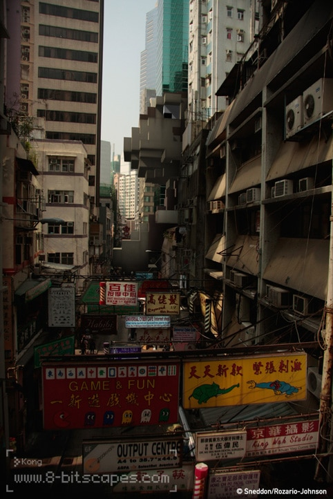 8-Bit City Street Invasion