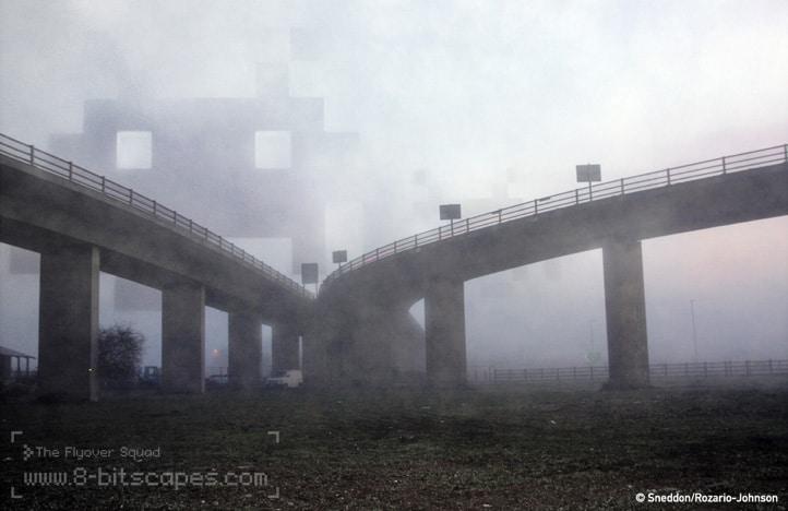 8-Bit Epic Bridge Invasion