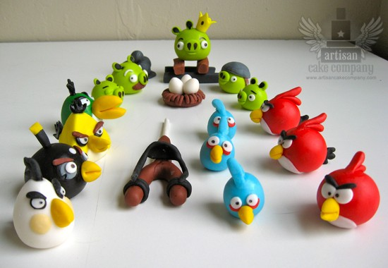 Now There Are Even Edible Angry Birds Cake Toppers