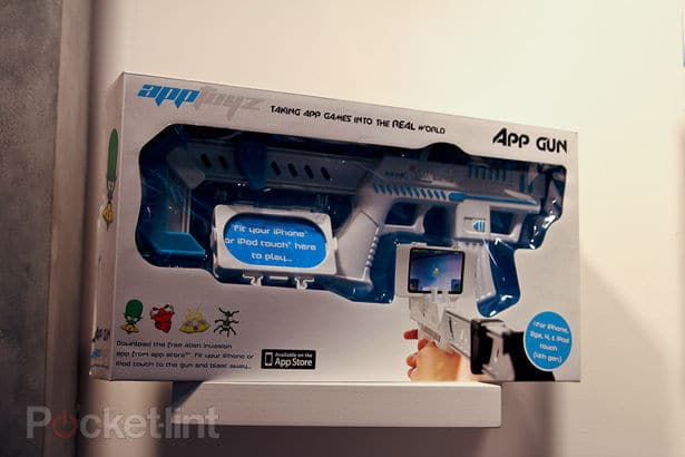 iPhone App Gun Simulator Packaging