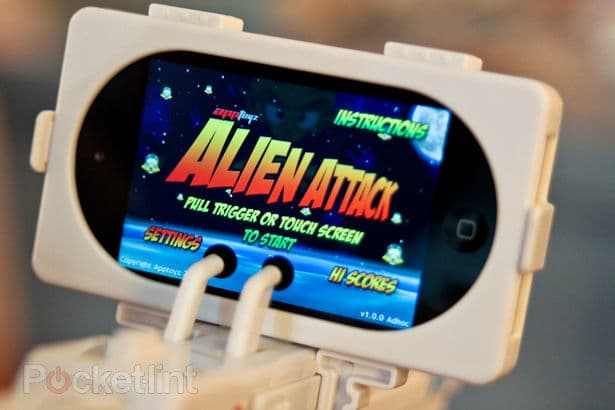 App Gun Alien Attacks Game