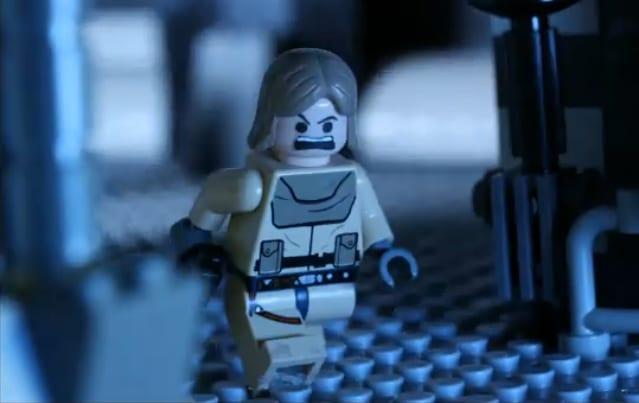 Luke Skywalker In Black Stormtrooper