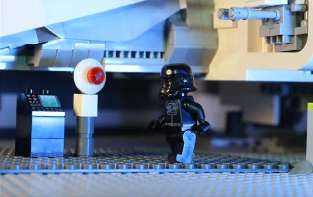 Darth Vader In Black Stormtrooper