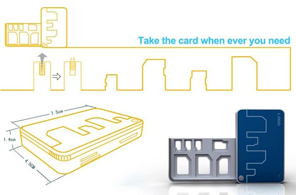 Storage Slots For Memory Cards