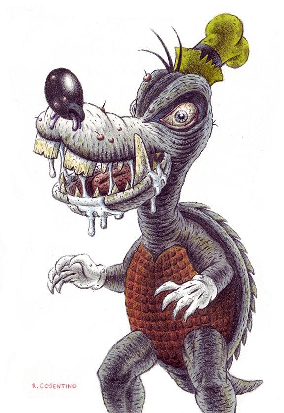Goofy Character as Gomera