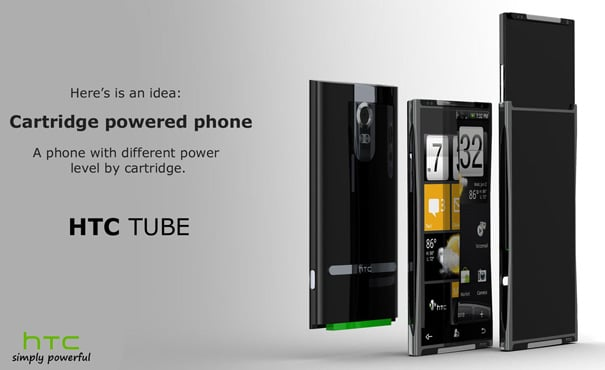 HTC Tube: The New Smartphone Could Go Cartridge