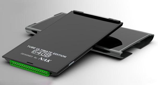 Inner HTC Cartridge Tube Smartphone