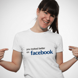 Hilarious Facebook Statement T-Shirt