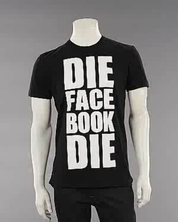 Die Facebook T-Shirt Statement
