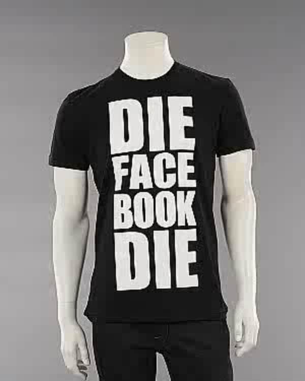 Die Facebook T-Shirt Statement
