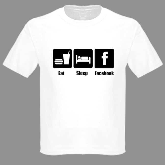 Eat Sleep Facebook Statement