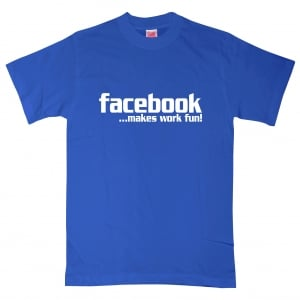 Facebook Statement Text T-Shirt