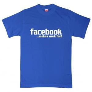 Facebook Statement Text T-Shirt