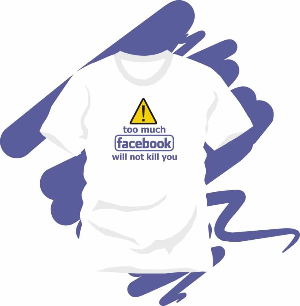 Facebook Edgy Statement T-Shirt