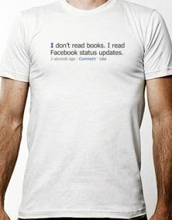 I Read Facebook Status Updates