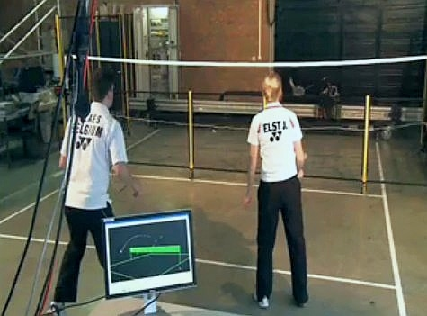 This Is Jada: The First Working Badminton Robot In The World