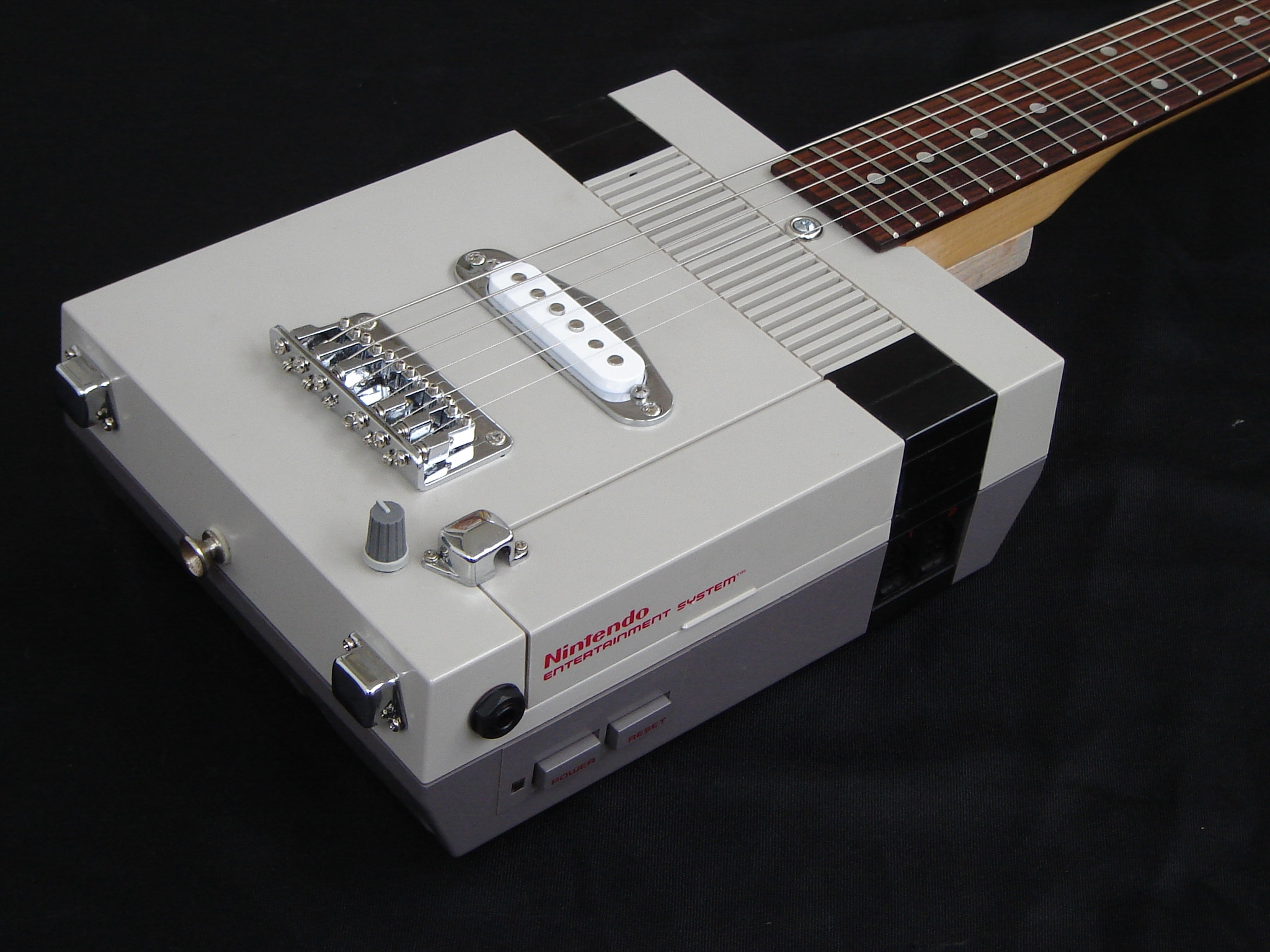 Nintendo NES Guitar: It Doesn't Get Much More Old School
