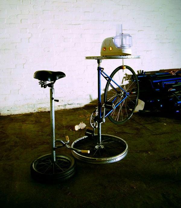 Pedal Powered Blender Concept Gadget