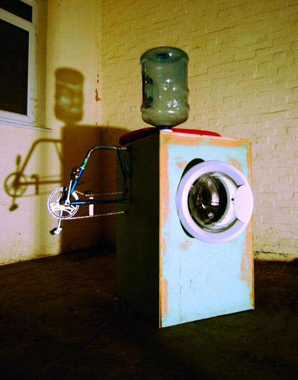 Pedal Powered Washing Machine Concept