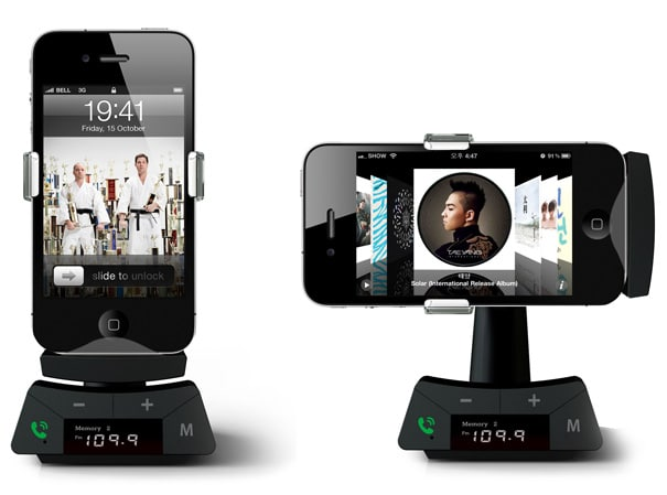 Smart Stand: Smartphone Car Dock Stand With A Twist!