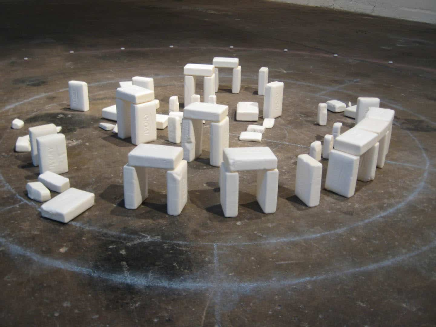 Soaphenge: The Cleaner Version Of Stonehenge
