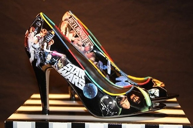 Star Wars Peep Toe Pumps: Girls Just Got Geekier!