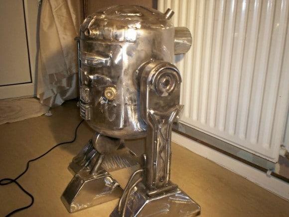 Closed Hatchet R2-D2 Wood Burner