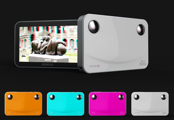 STEREOO: Could Be The Smallest 3D Camera In The World!