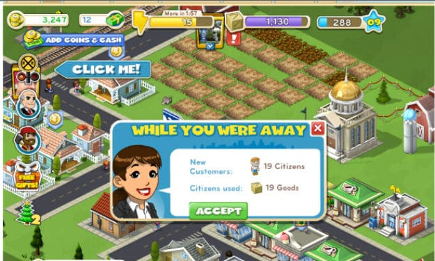 CityVille: Building A City On Facebook Is An Instant Hit!