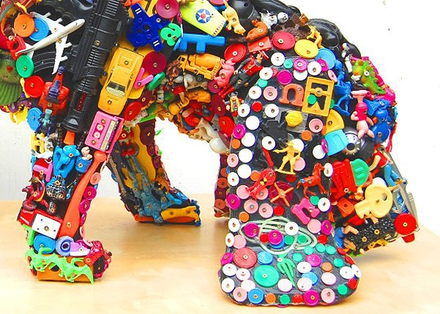 Recycling: Old Plastic Toys Get A New Life As A Dog