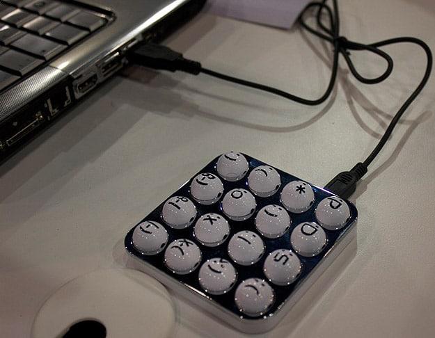 For Moody Tweeps: The Emoticon Keyboard