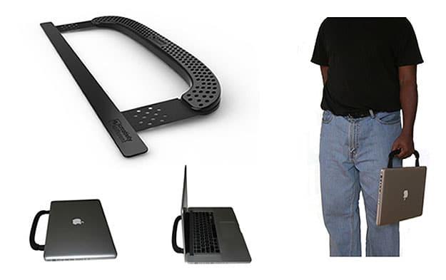 Add handle to Macbook Pro