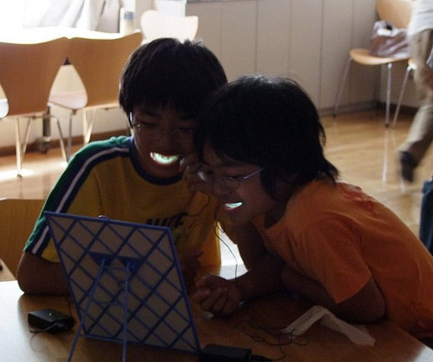 Brighten your smile with LED
