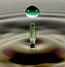 Photography: A Drop of Water Becomes a Rainbow of Color
