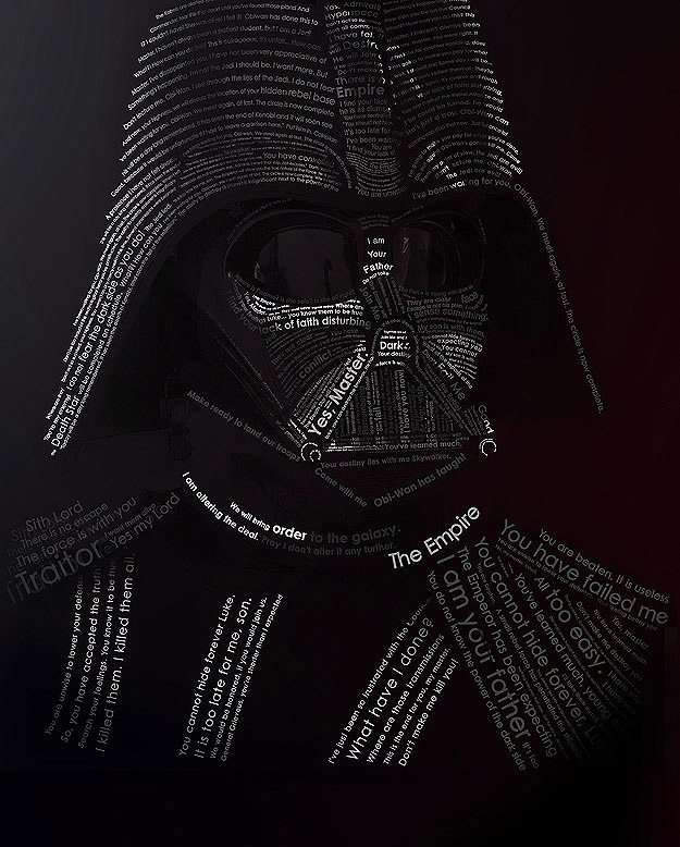 Darth Vader Made With Quotes
