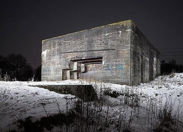 Photographs Of Bunkers From WWII