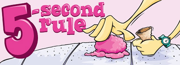 Dirty or Delicious: The 5-Second-Rule Investigated