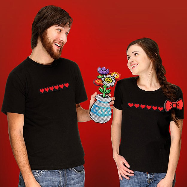 8-Bit Flowers: Perfect For Your Geek Gamer Girl