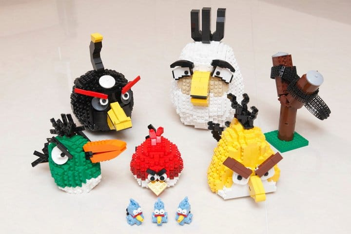 Complete Lego Angry Birds Set
