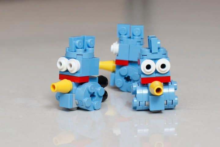 Blue Angry Birds Small Lego