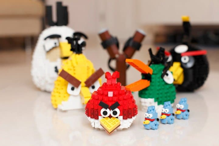 Angry Birds Lego Build Collection
